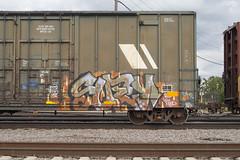 Suey (Psychedelic Wardad) Tags: freight graffiti dirty30 d30 dts mf suey
