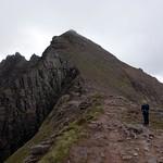 Ascending to Sgurr Fiona thumbnail