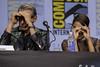 Jeff Goldblum and Tessa Thompson (TheGeekLens) Tags: sdcc sandiegocomiccon sandiego comiccon comicconinternational cci con convention california 2017 hallh marvel thor ragnarok celebrity event panel jeffgoldblum tessathompson
