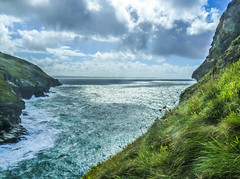 Moody Blues (daisyglade) Tags: cliffs tintagel sea moodyblues beautifulcornwall blueguitar
