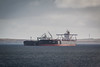 Transfers (MBDGE Over 1.2Million Views) Tags: orkney scotland ship sea shiptoship oil sts scapaflow tanker alba maritime canon70d grey