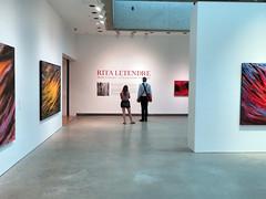Rita Letendre (duaneschermerhorn) Tags: ago artgalleryofontario museum painting exhibition seat orange yellow black white toronto ontario canada art modernart contemporaryart