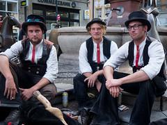 3 auf der Walz (schasa68) Tags: menschen people streetphoto portrait walz wanderung konstanz deutschland germany bodensee
