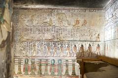KV17, The Tomb of Seti I, Side chamber Jb (kairoinfo4u) Tags: egypt luxorwestbank valleyofthekings eastvalley thebeswestbank thebes tombofsetyi kv17 setyi égypte egitto egipto ägypten sethosi unescoworldheritagesites setii ancientthebes ancientegyptianart luxor aluqsur amduat tombofsetii