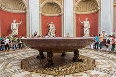 Porphyry Basin (Y-tamin_M) Tags: porphyry basin vatican museum
