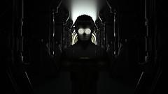 Spinner Eyes b (RandomMan) Tags: octane octanerender c4d cinema4d maxon otoy daily render abstract 3d digital rezz illumination hypnosis