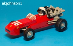 1966 Ferrari 312 (ekjohnson1) Tags: racecar race one formula 1966 312 ferrari f1 car lego