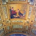 Paris ~ France ~ Louvre Museum ~ Historic Monument ~ Ceiling Mural thumbnail