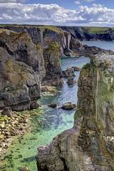 Dying slowly (pauldunn52) Tags: castlemartin range east stack rocks pembrokeshire wales limestone cliffs sea