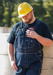 Constuct-3308_5x7 (Mike WMB) Tags: bear hardhat beard overalls