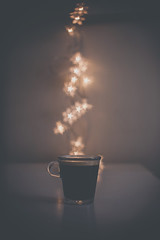 37/52 stars | estrellas (ana pardos corrales) Tags: bokeh stars coffee light darkness estrellitas café penumbra