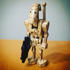 Minifig-a-Day #366: B1 Battle Droid (Timcan2904) Tags: 366