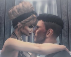 Unconditionally (Trixie Pinelli) Tags: lovers love couple daddysgirl secondlife lelutka greer truth lumipro merak tmp themeshproject cuddles embrace argrace blonde gentleman digital portrait photography sl romantic