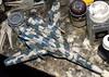 1:100 Macross (Frontier) VF-25F 'Messiah' - WiP (dizzyfugu) Tags: 1100 macross frontier valkyrie messiah model kit bandai snap fit modellbau fictional aviation science fiction anime oav 3751 wolkenmaus luftwaffe ral 5014 taubenblau 7038 achatgrau air superiority flight joy elegant grey blue wraparound dizzyfugu transform fighter mode gun pod