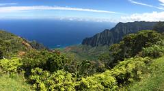 Kalalau Valley (_quintin_) Tags: kalalau valley kauai hawaii lookout clouds coast