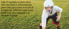 Youth Sports Safety Header Graphic (Spanish) (preventchildinjury) Tags: youth athlete youthathlete youngadult sports helmet sportsinjury spanish espanol safety childsafety injury injuryprevention child childinjury childinjuryprevention children kids