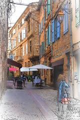 Restaurant L'Occitan (PhilHydePhotos) Tags: albi albigensians architecture buildings france southoffrance bâtiments