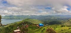 Cloudy Sky over Green Hills (views@vista) Tags: clouds hills holidays landscape mahabaleshwar maharashtra monsoon mountains outdoor panorama sky vacation water westernghats