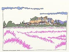 Grignan, France (hans solcer) Tags: france drome grignan aquarel artrage watercolor sketch ipaddrawing hanssolcer
