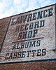Lawrence Record Shop, Nashville, TN (Robby Virus) Tags: nashville tennessee tn lawrence record store painted sign signage albums cassettes brick wall