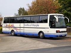 Smiths of Marple B7 WER Setra S250 (Grumman G1159) Tags: smiths marple smithsofmarple b7wer setra s250 coach bus