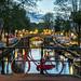 Amsterdam canal blue hour (-Giep-) Tags: amsterdam netherlands gideonmalherbephotography