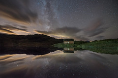 The sky was alive (chrismarr82) Tags: nikon tamron loch arklet trossachs scotland astro night