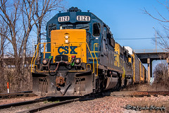 CSX 8128 | EMD SD40-2 | CN Fulton Subdivision (M.J. Scanlon) Tags: csx csxt cn cnfultonsub canadiannational aulon aulonjunction csx8128 crr8128 sbd8128 crr clinchfieldrailroad sbd seaboardsystem memphis tennessee digital merchandise commerce business wow haul outdoor outdoors move mover moving scanlon canon eos engine locomotive rail railroad railway train track horsepower logistics railfanning steel wheels photo photography photographer photograph capture picture trains railfan q535 csxq535