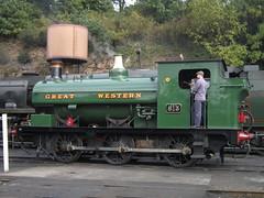 IMG_7276 - GWR Hudswell Clarke Saddle Tank 813 (SVREnthusiast) Tags: severnvalleyrailway svr severnvalley severn valley railway gwrhudswellclarkesaddletank813 gwr hudswellclarke saddletank 813 autumngala2017