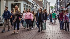 Streets of Amsterdam. (PhredKH) Tags: amsterdam canon canoneos canonphotography fredkh photosbyphredkh phredkh travelphotography people streetphotography amsterdamstreets ef2470mmf4lisusm canoneos5dmarkiii