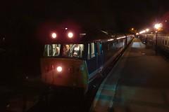 Late night Hoover at Ongar. Epping Ongar Railway Autumn Diesel Gala. 23 09 2017 (pnb511) Tags: northwealdstation eppingongarrailway trains heritage railway locomotive loco diesel rail autumndieselgala class50