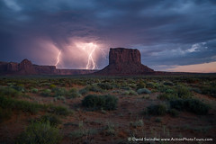 End of the Season (David Swindler (ActionPhotoTours.com)) Tags: stormyskieslightning arizona monumentvalley storm southwest desert