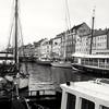 Black and white 4 (rachaelwhyte-dkit) Tags: nyhavn copenhagen copenhagenharbour canal canallife canallove boat yacht barge citystreet canalstreet kobenhavn köbenhavn