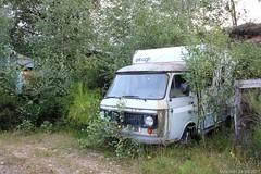 Épave: Fiat 238 Elnagh camper (MilanWH) Tags: épave wreck fiat 238 camper