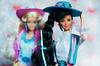 Western Fun Barbie and Nia 05 (Lindi Dragon) Tags: barbie doll mattel nia kira marina superstar western 1989