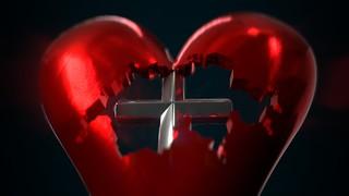Switzerland in Heart Pendant