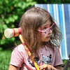 Croquet Champion (Brian 104) Tags: granddaughter croquet player girl determined