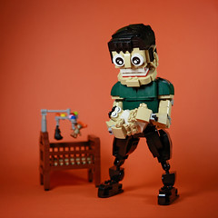 DOGOD_Super dad01_01 (DOGOD Brick Design) Tags: lego moc brick taiwan dogod super dad superdad baby sleep