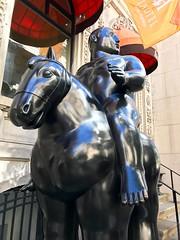big guy big horse (travelontheside) Tags: fernandobotero montreal mtl quebec canada oldmontreal vieuxmontréal lhotel art sculpture publicart