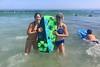 Boogie boarding at Good Harbor (Bex.Walton) Tags: travel usa newengland ma massachusetts gloucester capeann beach goodharborbeach atlanticocean ocean boogieboard
