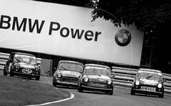 Dunlop Mini Se7en Challenge (MPH94) Tags: fulton park north west cheshire auto car cars motor sport motorsport race racing motorracing canon 500d mini cooper festival august black white monochrome se7en seven 7 dunlop challenge
