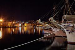 Djelić turističke flotile vezan za riječki lukobran (2) (MountMan Photo) Tags: rijeka luka noć turističkibrodići primorskogoranska croatia voda noćnafotografija