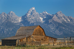 John Moulton Barn (Angie Vogel Nature Photography) Tags: barn moultonbarn mormonrow grandtetons nature rural wyoming