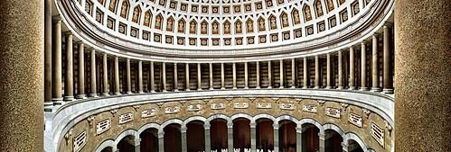 The columns corridor