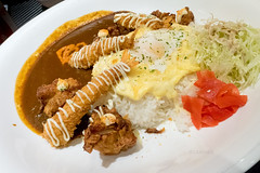 Monster Curry Combo Plate - For TWO (02) (leadin2) Tags: canon g5 g5x x powershot 2016 food japanese restaurant curry monster combo dinner dining rice spicy pork prawn fish cutlet