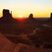Sunrise of the Navajo Nation
