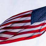 U.S. Flag at the Inclined Plane Station on Yoder Hill in the Borough of Westmont (PA) thumbnail