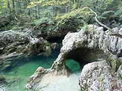 Mostnica River, Triglav National Park, Slovenia