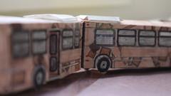 X301 - PAT Bus 3074 (Etienne Luu) Tags: paper model bus cardstock transit