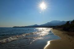 Sun (++Rob++) Tags: greece griekenland crete kreta sea zee strand beach sun zon